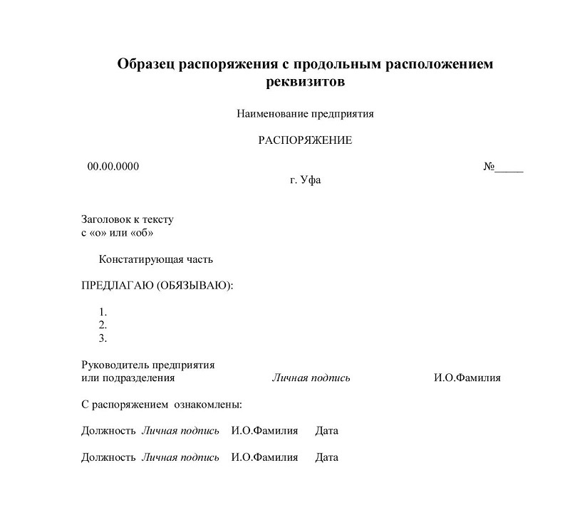 Положение, Устав, Инструкция Правила Составления И Оформления